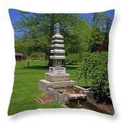 Joe And Marie Schedel Pagoda-horizontal Throw Pillow