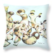 Joe Boulder Throw Pillow