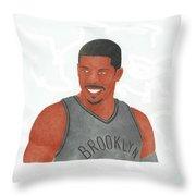 Joe Johnson  Throw Pillow