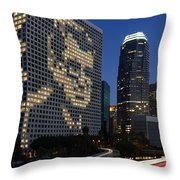 Joe Paterno City Scape Throw Pillow