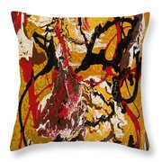 Joe Sweet Throw Pillow