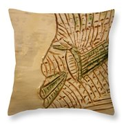 Joels Relax Time - Tile Throw Pillow
