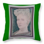 Happy's 1978 Potrait Of Joey Throw Pillow
