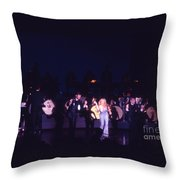 Joey Heatherton In Las Vegas Throw Pillow