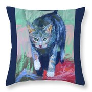Joey The Nugget Throw Pillow