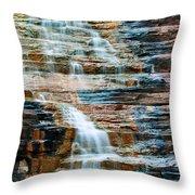 Joffre Gorge - Karijini Np 2am-29568 Throw Pillow