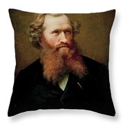 Johan Fredrik Eckersberg  Throw Pillow