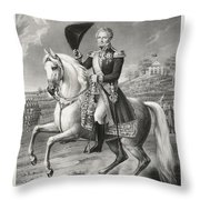 Johan Sveriges Och Norriges Throw Pillow