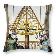 Johannes Hevelius Throw Pillow