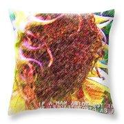 John 15 6 Throw Pillow