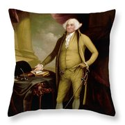 John Adams (1735-1826) Throw Pillow