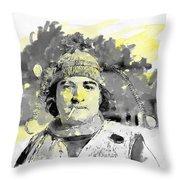 John Belushi Killer Bee Throw Pillow
