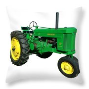 John Deere 70 Throw Pillow