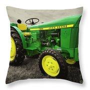 Classic Green  Throw Pillow