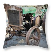 Hap's Ride Throw Pillow