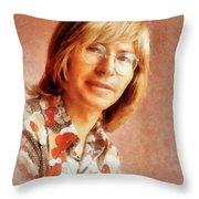 John Denver By John Springfield Throw Pillow