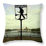 John Finley Walk II Throw Pillow