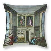John Flamsteed, C. 1700 Throw Pillow