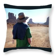 John Ford Country Throw Pillow