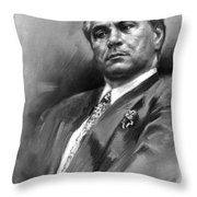John Gotti Throw Pillow