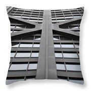 John Hancock Building Throw Pillow