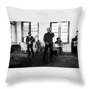 John Legend And The Roots Throw Pillow