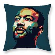 John Legend Throw Pillow