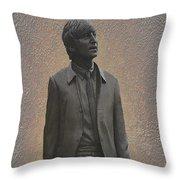 John Lennon N F Throw Pillow