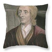 John Locke Throw Pillow