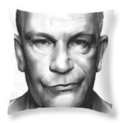 John Malkovich Throw Pillow