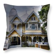 John P. Donnelly House Throw Pillow
