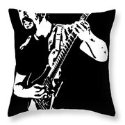 John Petrucci No.01 Throw Pillow by Caio Caldas
