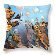 John Pierpont Morgan Throw Pillow