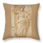 John The Baptist Throw Pillow