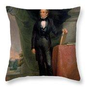John Tyler Throw Pillow