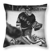 John Vanbiesbrouck Throw Pillow