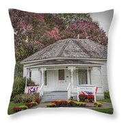John Wayne Birthplace Throw Pillow