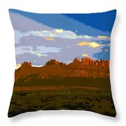 John Wayne Country Throw Pillow