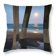 Johnnie Mercers Pier Again Throw Pillow