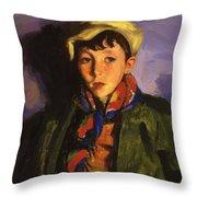 Johnnie Patton 1924 Throw Pillow