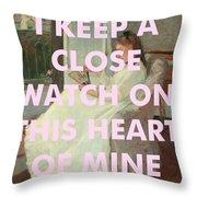 Johnny Cash Art Print Throw Pillow