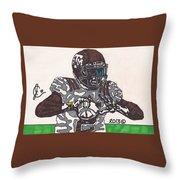Johnny Manziel 12 Throw Pillow