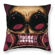 Johnny The Homicidal Maniac Throw Pillow