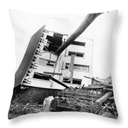 Johnstown Flood, 1889 Throw Pillow