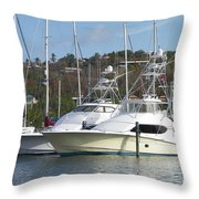 Join Me For A Ride Throw Pillow