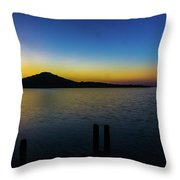 Join Me On The Dock Throw Pillow