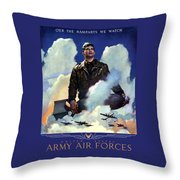 Join The Army Air Forces Throw Pillow