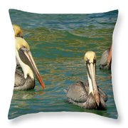 Join The Club Throw Pillow