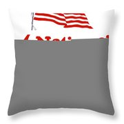Arise America Before It Is Too Late - Join The Navy Throw Pillow