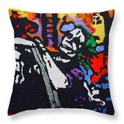 Joker Joy Ride Throw Pillow
